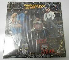 1978 THE WHO Who Are You LP PIC DISC Sealed MCAP-14950 LOU O'NEIL COLLECTION