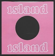 ISLAND - (dark pink) - REPRODUCTION RECORD COMPANY SLEEVES - (pack of 10)