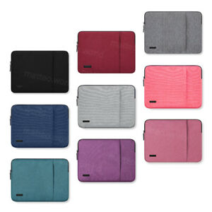 "Laptop Sleeve Case Bag For 10"" 13.3"" 15.6 inch Macbook Microsoft Lenovo HP DELL"