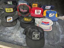 Vintage Trucker Hat Snap Back Lot X 12 Mesh Patch USA K Brand Louisville Others