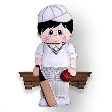 SC32 - Cricket Boy Tommy 3D Shelf Card - Birthday, Fathers Day, Blank
