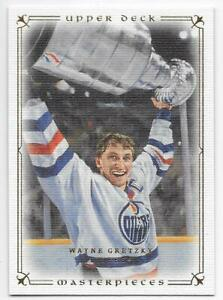 08/09 UPPER DECK UD MASTERPIECES BASE Hockey (#1-87) U-Pick From List