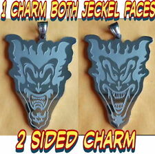 "Icp ""Amazing Jeckel Brothers"" Stainless Steel pendant w/24 inch 3mm ball chain"
