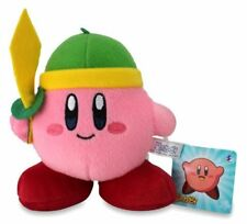 "Kirby Mini Plush Doll with Ball Chain - 5.5"" Sword Kirby"