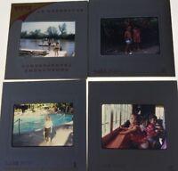 Lot Of 4 Vintage 1960's Photo Slides Children