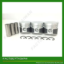 Pistons Set STD 72mm for KUBOTA D850 (100% TAIWAN MADE) x 3 PCS
