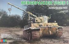 Rye Field - 1/35 Bergepanzer Tiger I, Sd.kfz. 185 Italy 1944 - RM5008