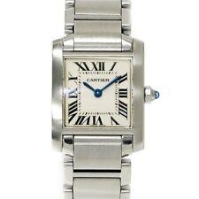Cartier Tank Francaise SM W51008Q3 Quartz Cream Dial Ladies Watch 90102911