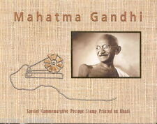 "India - ""MAHATMA GANDHI ~ INDIPEX 2011"" Khadi MS Presenatation Pack !"