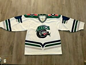Vintage Bauer Pro Wear Houston Aeros Jersey Size Small