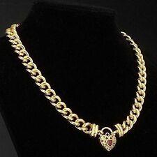 Simulated Stone Yellow Gold Ruby Fine Jewellery