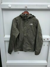 The north Face Mens Dryvent Lightweight Jacket with Hood - Medium GREEN