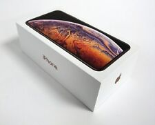 Genuino Apple GB Vacío Teléfono Caja para IPHONE Xs Max 64GB Oro & Cable de