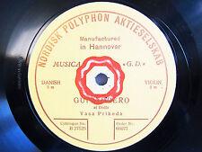 78rpm VASA PRIHODA Violin - DRDLA GUITARRERO - ACOUSTIC POLYPHON SINGLE-SIDED