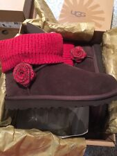 New With Bow! Ugg Kids Mini Southern Belle ~Size 4
