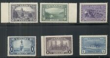 CANADA #226-7, 244-5, 261-2, High values of 3 better sets, all og, NH/LH