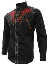 Cowboy Shirt El Señor de los Cielos Embroidered Multiple Colors Camisa Vaquera