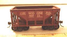 Metal Ore Car~Ho Scale~Soo Line 817 11