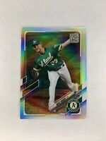 2021 Topps Series 1 Mike Minor #329 Rainbow Foil SP Oakland Athletics