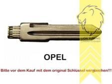 Schlüsselrohlinge für Klappschlüssel Zentralverriegelung Opel Astra Vectra Corsa