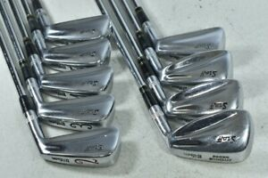 Wilson Staff Blade 2-PW Iron Set Right Stiff Flex Dynamic Gold Steel # 126891