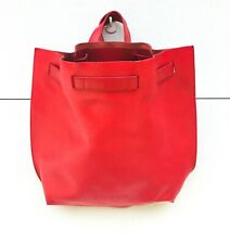 Furla Backpack Red Leather Italy