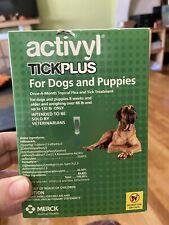 Activyl - Tick Plus Dog (88-132lbs) Six Month Supply