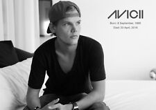 Avicii Poster - # 18 - A3 Tribute Poster - DJ Legend - 420mm x 297mm new