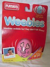 New Vintage Playskool Weebles Toy 5272/5241 Pig 1995 Hasbro