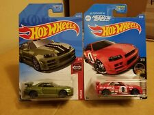 Hot Wheels Nissan Skyline R34 ( lot of 2 )