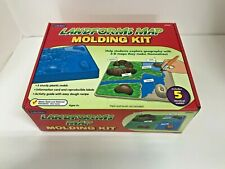 Lakeshore Landforms Map Molding Kit DD662 5 Identical Molds Information Card 6+