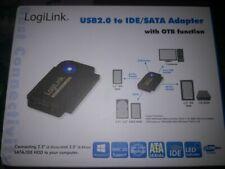"LogiLink  USB 2.0 - SATA/IDE Adapter 2,5"" und 3,5"" Festplatten"
