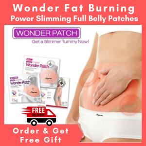 5x Wonder Full Belly Slimming Patch Slim Abdomen Fat Burn Weight Loss Adhesive