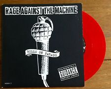 "Rage Against The Machine - Bulls On Parade  7"" Red Vinyl"