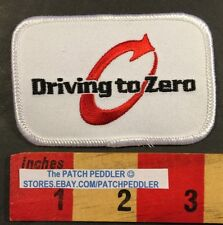 ENSIGN ENERGY DRIVING TO ZERO INJURIES ACCIDENTS Oil Gas Advertising Patch 57MM