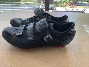 Sidi Eagle 7 SR MTB-Schuhe schwarz/schatten Gr 46 Neu