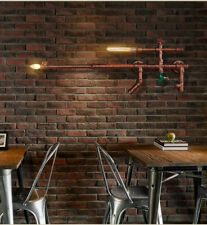 Retro Nostalgic Industrial Wall Pipe Design Decoration Wall Light