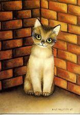 POSTCARD CARTE POSTALE ILLUSTRATEUR ANNA HOLLERER N° LA 165 / CAT / CHAT