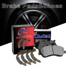 Front Rear Posi Metallic Brake Pads + Shoes 2Set For 1973-1974 Ford Thunderbird