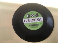 BOY GEORGE - Everything I Own 1987 vinyl condition near mint