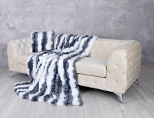 "Fake fur Blanket "" Winter "" Cover Sofa Bedspread Shaggy"