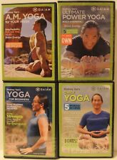 4 Rodney Yee workout exercise fitness DVD lot Daily Yoga Ultimate Power beginner