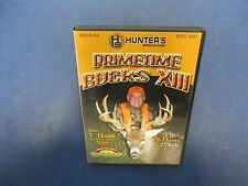 Primetime Bucks XIII DVD, Hot Buck Action, 26 Hunts, 27 Kills, HS, 2009