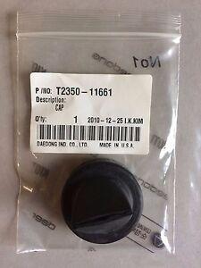 New OEM KIOTI T2350-11661 Air Filter Cap for Mechron, CK20 CS2210 CS2410 CS2510