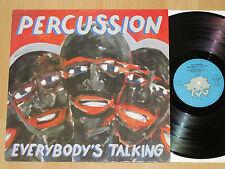 LP PERCUSSION - EVERYBODY'S TALKING - PER TJERNBERG - NILSSON - MINT