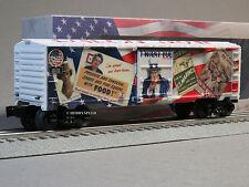 LIONEL UNCLE SAM ENLIST NOW BOXCAR O GAUGE train military patriotic 6-83788 NEW