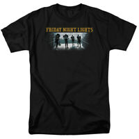 Friday Night Lights Game Time Logo T Shirt Mens Licensed Classic TV Show Black