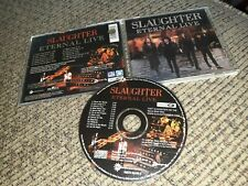 Slaughter Eternal Live CD Enhanced Poison Warrant Cinderella ORIGINAL PRINTING