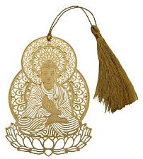 Lord Buddha Metal Bookmark with Tassel, School Supplies Page Hold