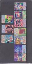AUSTRALIA-1998-45 CENT ROCK 'N ROLL X 10-SELF ADHESIVE-F/VFU-$3.50-freepost